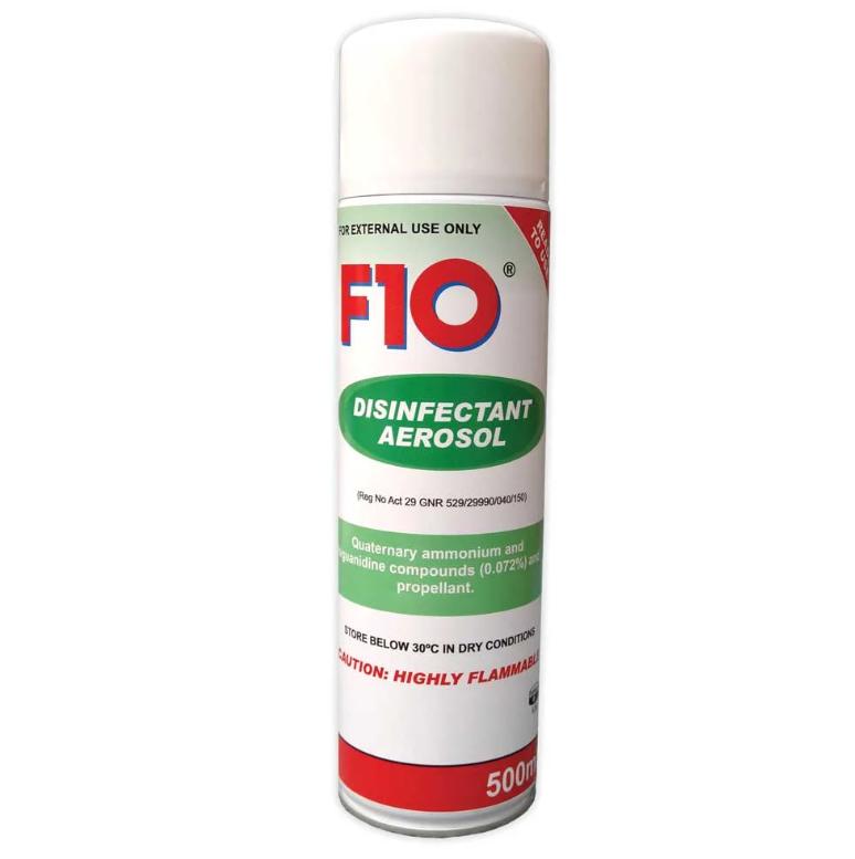 F1O Disinfectant Aerosol