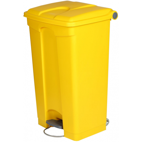 enclosed litter bin